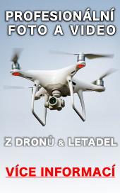 Profesionální foto a video z dronů a letadel