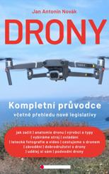 Nová kniha - Drony - Kompletní průvodce