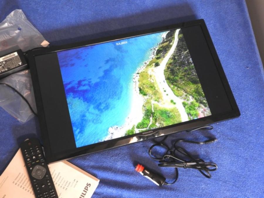 0154cfed2 Televizor jako monitor pro velký obraz z dronu